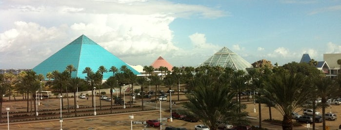 Moody Gardens is one of Zoos of Texas.