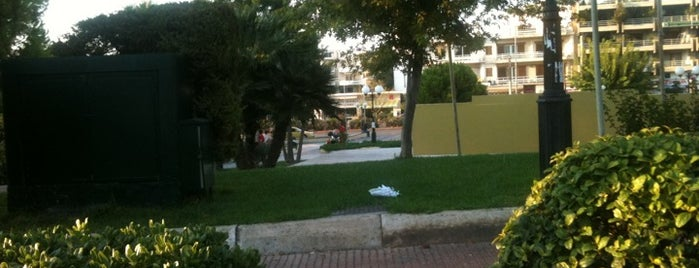 Agia Paraskevi Square is one of Favs!.