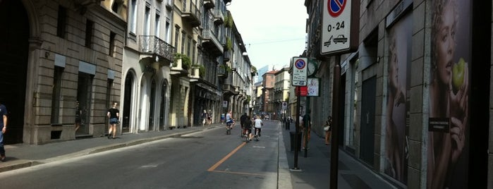 Via Monte Napoleone is one of Guide to Milano's best spots.