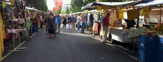 Dappermarkt is one of Amsterdam.