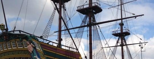 Het Scheepvaartmuseum is one of The Nederlands.
