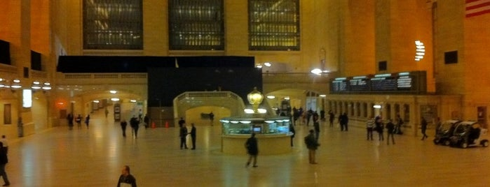 Grand Central Terminal is one of NYC's Midtown.