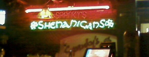 Spanky's Shenanigans is one of Local Redskins Rally Bars.