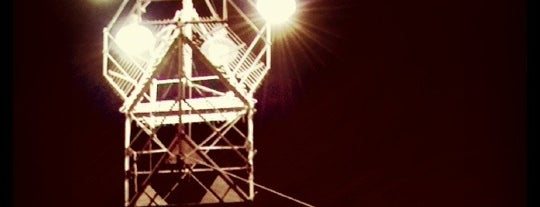 Moonlight Tower (Barton Springs) is one of Austin.