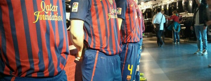 FCBotiga Megastore is one of Barcelona to-do list.