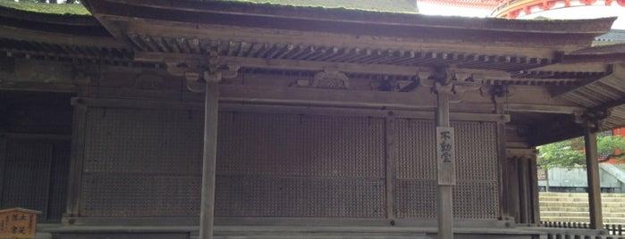 不動堂 is one of World heritage - KOYASAN.