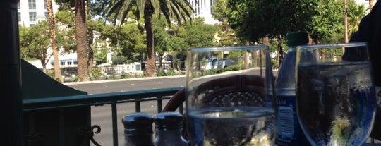 Mon Ami Gabi is one of Great Vegas Views.