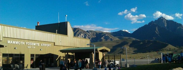 Mammoth Yosemite Airport (MMH) is one of Where to Use Paperless Boarding Passes.