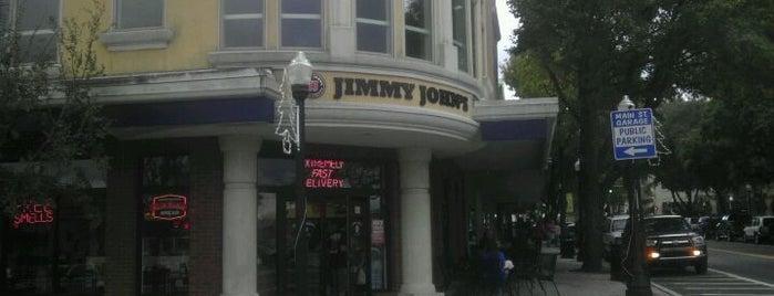 Jimmy John's is one of Tempat yang Disukai Benjamin.