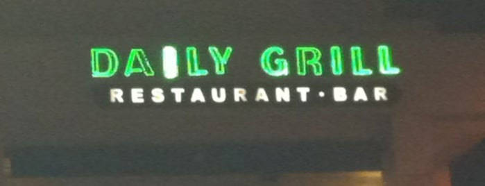 Daily Grill is one of Neighborhood regular places.