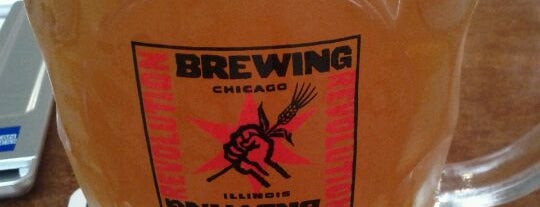 Revolution Brewing is one of Chicago's Best Beer - 2012.