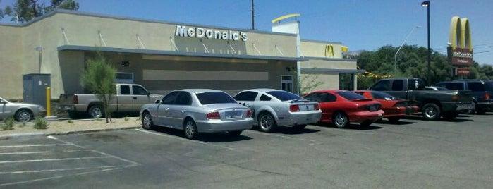McDonald's is one of Tucson Arizona.