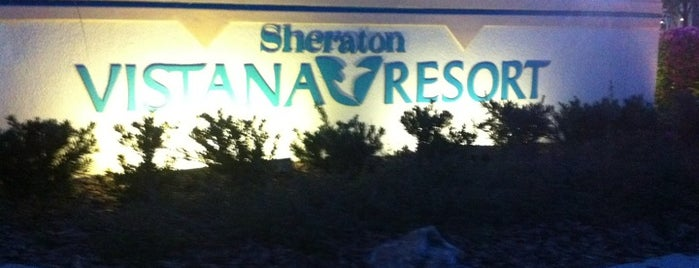 Sheraton Vistana Resort Villas, Lake Buena Vista/Orlando is one of Laura : понравившиеся места.