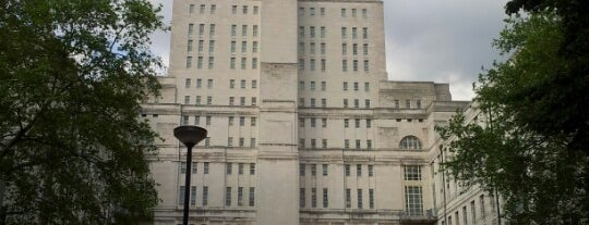 Senate House is one of My London.