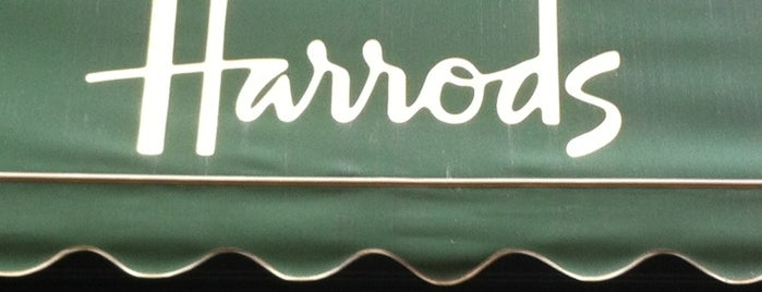 Harrods is one of London shopping..