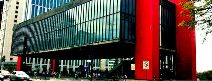 Museu de Arte de São Paulo (MASP) is one of Locais salvos de 5 Years From Now®.