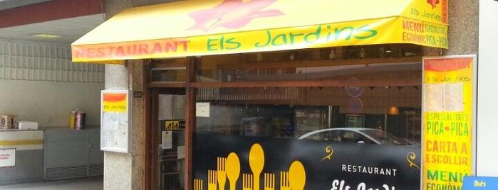 Bar Restaurante Els Jardins is one of Lugares favoritos de alejandro.
