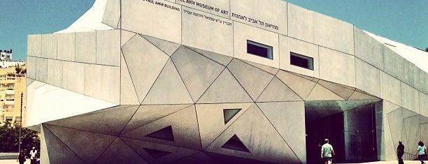 Tel Aviv Museum of Art is one of Shabbat Shalom.