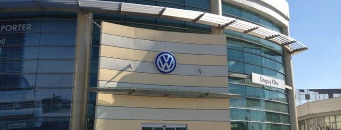 Volkswagen Doğuş Oto is one of Murat : понравившиеся места.