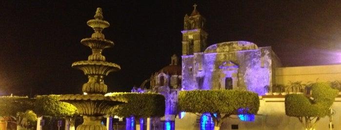 La Alameda Cuautla is one of Guía de Cuautla, Mor.