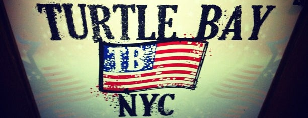 Turtle Bay NYC is one of JT.