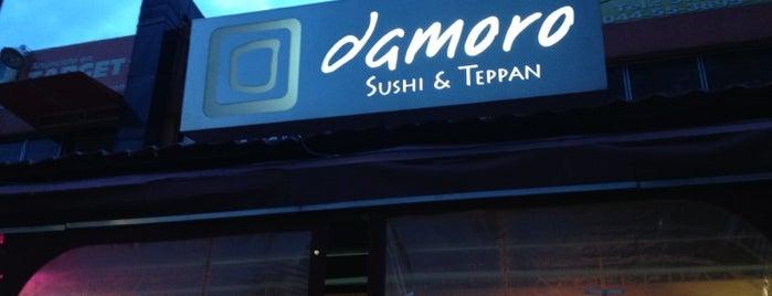 Damoro Sushi & Teppan is one of Miguel 님이 저장한 장소.