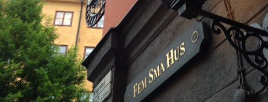 Fem små hus is one of Mi lista de cosas hechas.