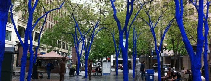 Westlake Blue Trees is one of Seattle Area Oddities.