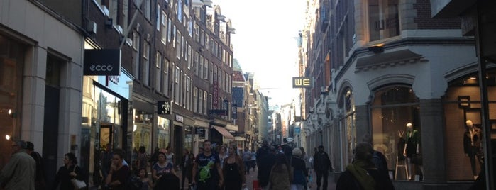 Kalverstraat is one of Amsterdam.