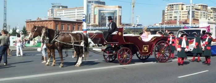 Omsk is one of Locais curtidos por Anna.