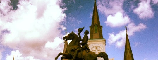 Jackson Square is one of New Orleans!.
