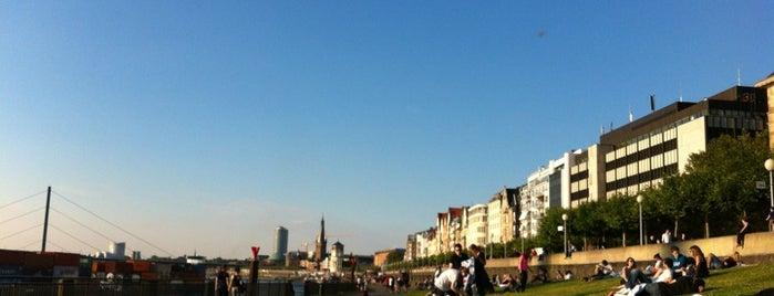 Rheinpark Bilk is one of Best of Düsseldorf.