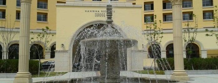 Hanwha Resort Seorak Sorano is one of Orte, die Henry gefallen.