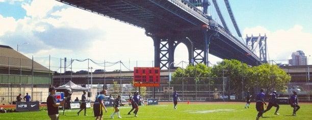 Under The Manhattan Bridge, Manhattan is one of New York City.