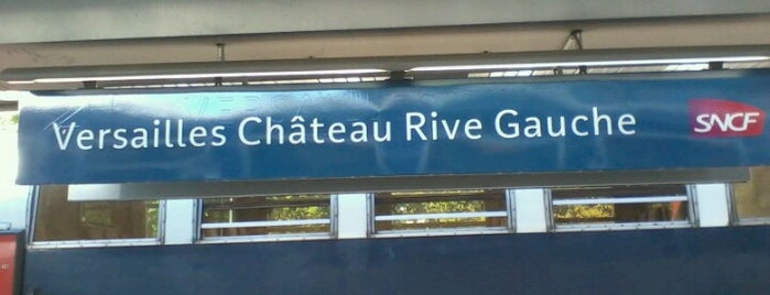 RER Versailles Château – Rive Gauche [C] is one of Lugares favoritos de Ruslan.