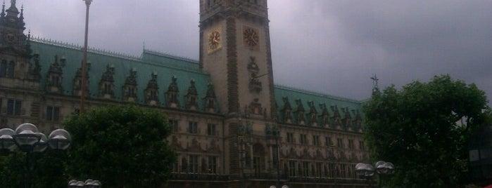 Rathausmarkt is one of StorefrontSticker #4sqCities: Hamburg.