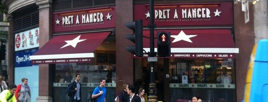Pret A Manger is one of LONDRES.