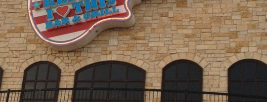 Toby Keith's I Love This Bar and Grill is one of OKC.