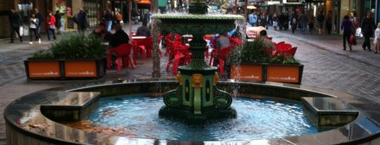 Rundle Mall is one of Adelaide - Must do.