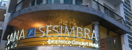 SANA Sesimbra Hotel is one of SANA Hotels.