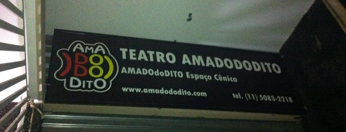 AMADOdoDITO Cia. Teatral is one of Rolê teatral em SP.