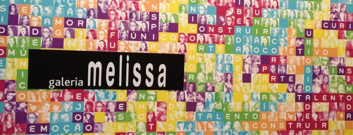 Galeria Melissa is one of Viaje Sao Paulo.