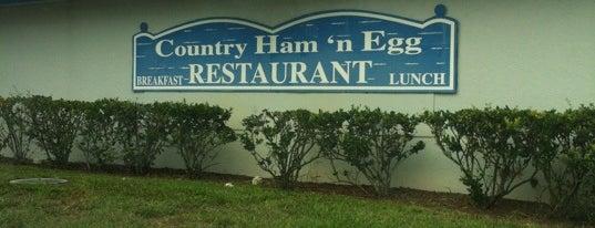 Country Ham & Egg is one of Jordan'ın Beğendiği Mekanlar.