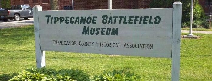 Tippecanoe Battlefield is one of Lugares favoritos de Amanda.