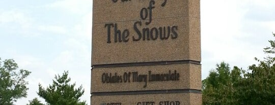 National Shrine of Our Lady of the Snows is one of Illinois's Greatest Places AIA.