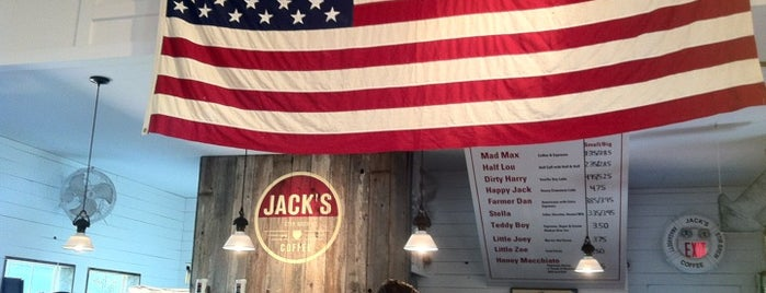 Jack's Stir Brew Coffee is one of Tax Day.