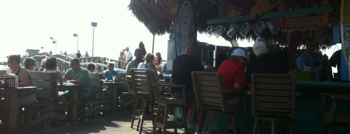 Sharky's On the Pier is one of Must Eat Places.