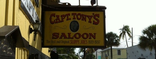 Captain Tony's Saloon is one of Tammy's Key West Faves.