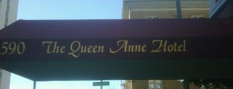 Queen Anne Hotel is one of Lugares favoritos de Héctor.