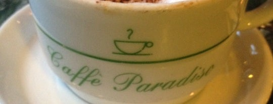 Caffe Paradiso is one of My Boston Bean.